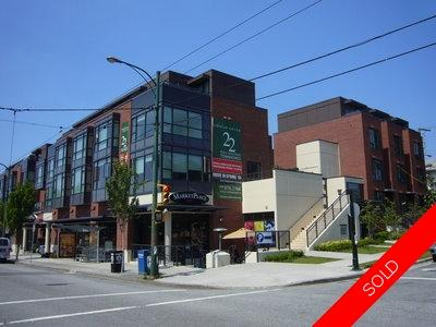 Kitsilano Townhouse for sale: Viridian Green 3 bedroom 1,242 sq.ft. (Listed 2011-09-04)