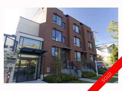Kitsilano Townhouse for sale:  3 bedroom 1,546 sq.ft. (Listed 2009-11-06)