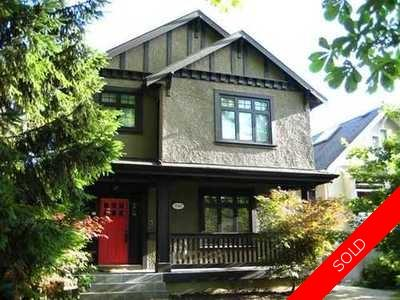 Kitsilano House for sale:  5 bedroom 2,769 sq.ft. (Listed 2011-08-15)