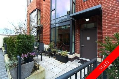 Kitsilano / Point Grey Townhome for sale: Viridian Green 3 bedroom 1,420 sq.ft. (Listed 2012-01-18)